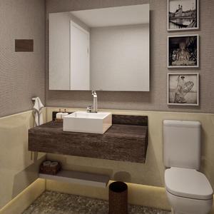 Bancadas e tampos de banheiro em oferta leroy merlin for Leroy merlin armario lavabo