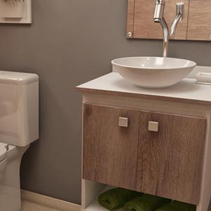 Banheiros decora o reforma ou constru o leroy merlin - Leroy merlin reformas ...