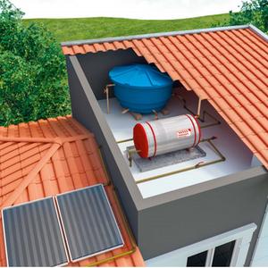 Aquecedores de gua solar em oferta leroy merlin for Kit placas solares leroy merlin