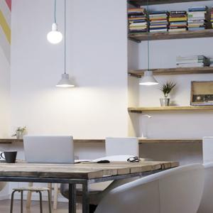 Lustres e Pendentes para Escritório/Home Office