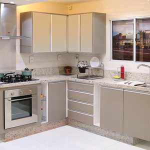 Cozinhas planejadas e reas de servi o leroy merlin - Ver cocinas montadas ...