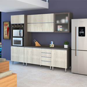 cozinha prime canes leroy merlin. Black Bedroom Furniture Sets. Home Design Ideas