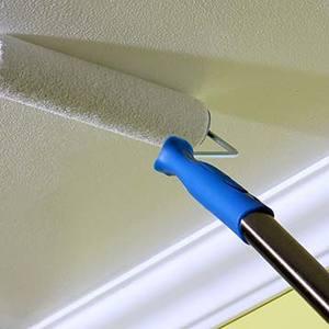 Resultado de imagem para pintura de teto com rolo extensor