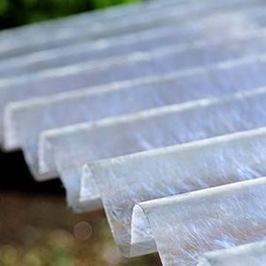 Telhas de Fibra de Vidro
