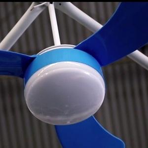 Ventilador de Teto azul