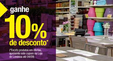 10% de desconto Londrina