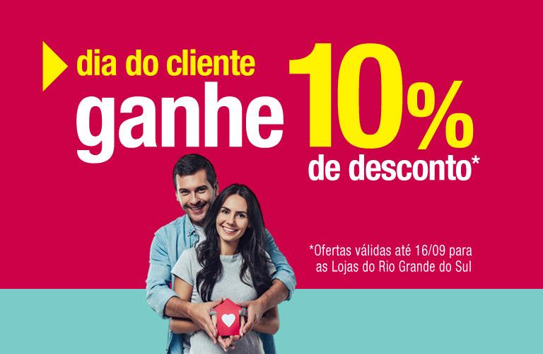 10% de desconto na Leroy Merlin Rio Grande do Sul