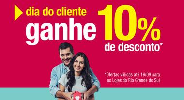 10% de desconto Rio Grande do Sul