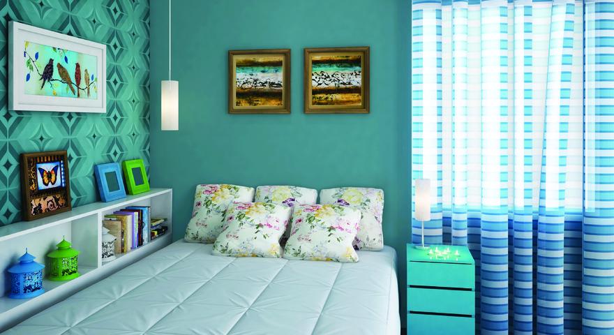 15 ambientes com papel de parede - Papel decorado para paredes ...