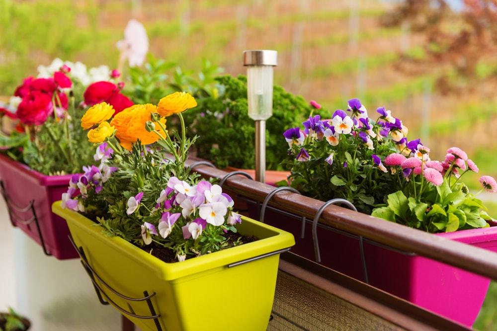 7 ideias para customizar e decorar vasos para plantas. Black Bedroom Furniture Sets. Home Design Ideas