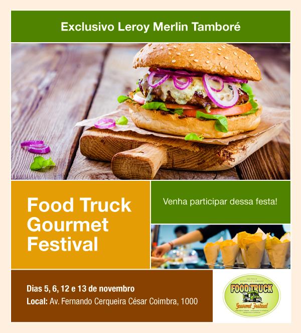 Food Truck na Loja de Tamboré