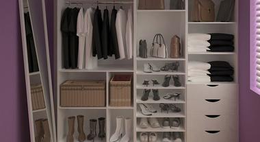 A praticidade de que você precisa em seu closet