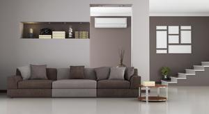 Casa com ar condicionado