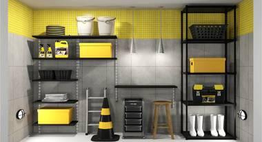 Área de serviço amarela