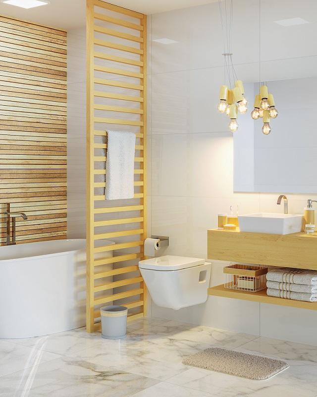 Banheiro Grande Com Decoração Essential Leroy Merlin