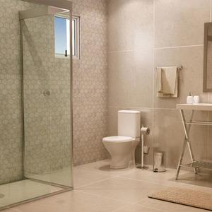Banheiro Grande Com Porcelanato Leroy Merlin