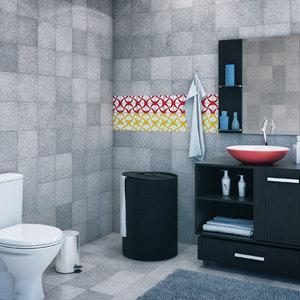 Banheiro grande decorado leroy merlin - Maceteros grandes leroy merlin ...