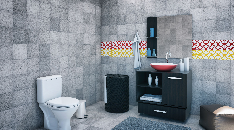banheiro grande decorado leroy merlin. Black Bedroom Furniture Sets. Home Design Ideas