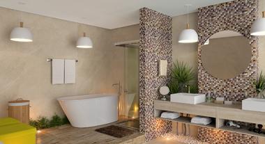 Banheiro Grande e Moderno