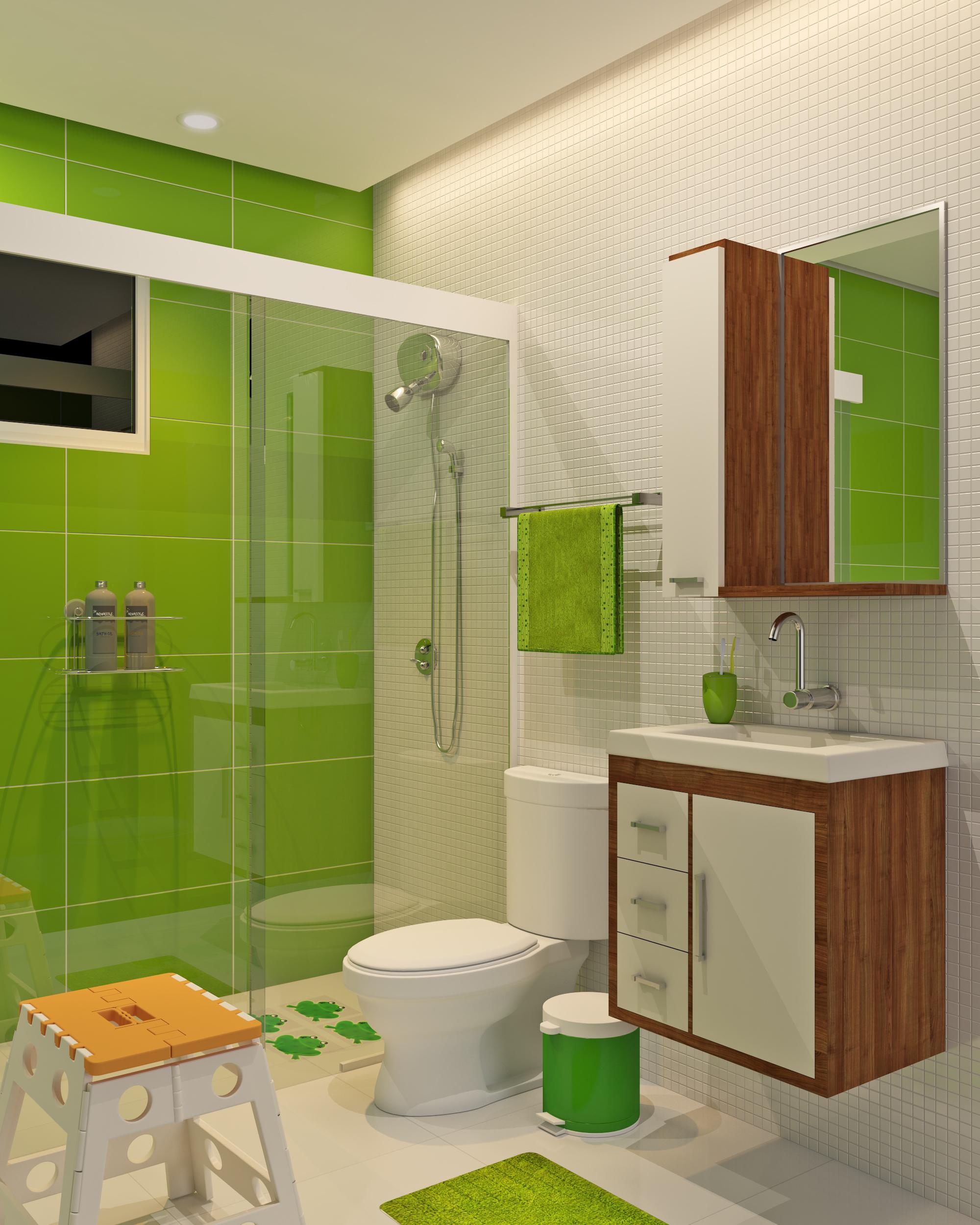 Banheiro infantil bonito e barato leroy merlin - Papel para paredes baratos ...