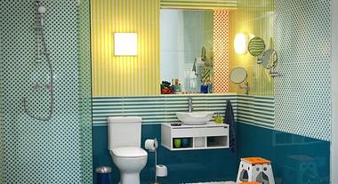 Banheiro para a criançada