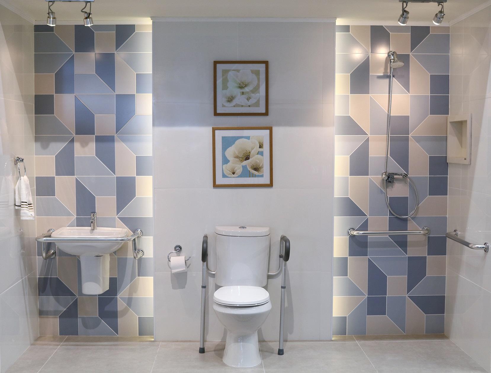 Imagem De Banheiros Pequenos Decorados : Banheiro pequeno decorado acess?vel leroy merlin