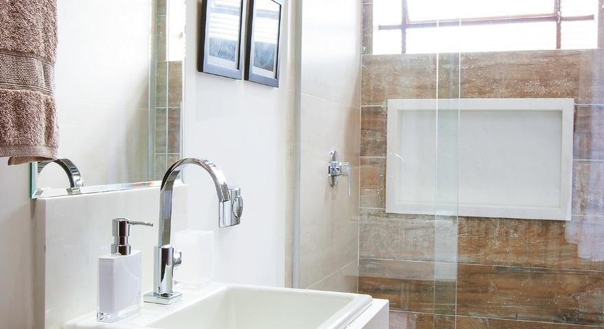 #474258 Banheiro pequeno decoradoLeroy Merlin 880x480 px banheiro pequeno decorado simples