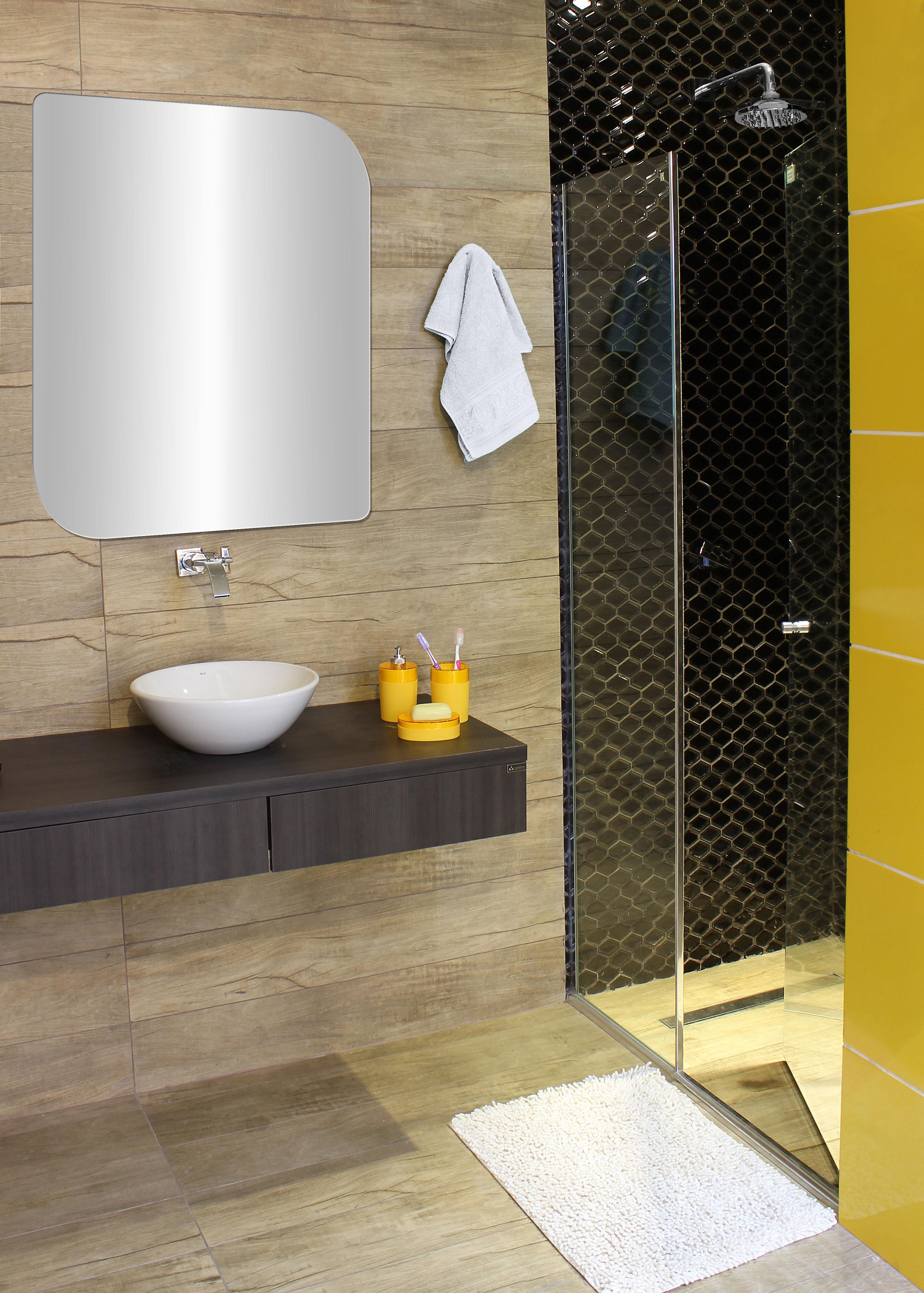 Banheiro pequeno e elegante leroy merlin for Lavabo pequeno leroy merlin