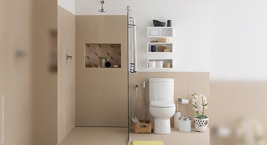 Banheiro pequeno decorado leroy merlin - Amueblar piso pequeno barato ...