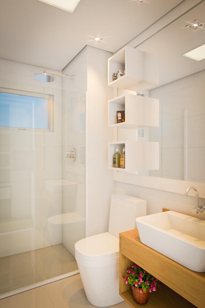 #474711 Banheiro pequeno simplesLeroy Merlin 666x1000 px banheiros pequenos decoração simples