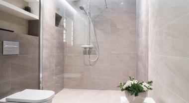 Banho relaxante com as duchas frias