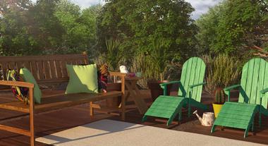 Cadeiras e poltronas ideais para os ambientes externos