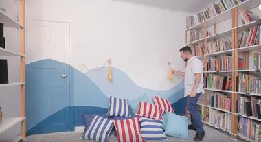 Cantinho da leitura: como fazer um espaço aconchegante gastando pouco