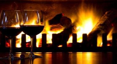Casa com clima romântico