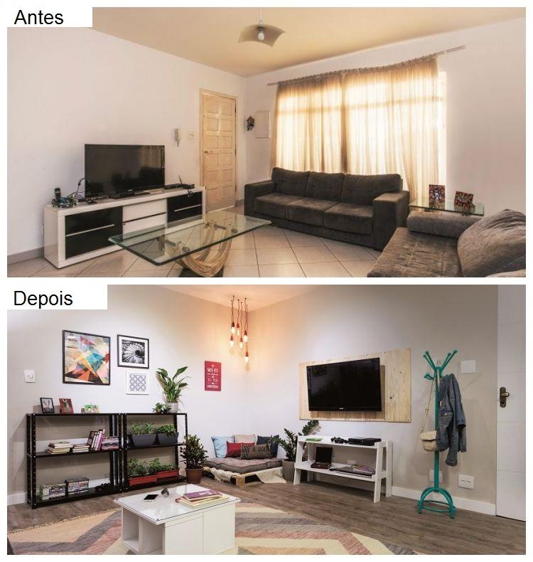 Casa reformada antes e depois leroy merlin - Reforma de casas ...