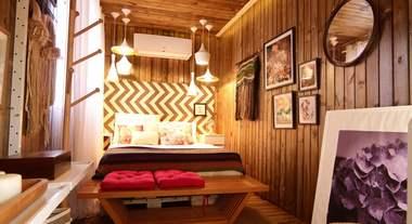 Casa Viva: quarto de casal sustentável inspirado na região Sul