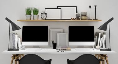 Cavaletes para móveis permitem decoração moderna
