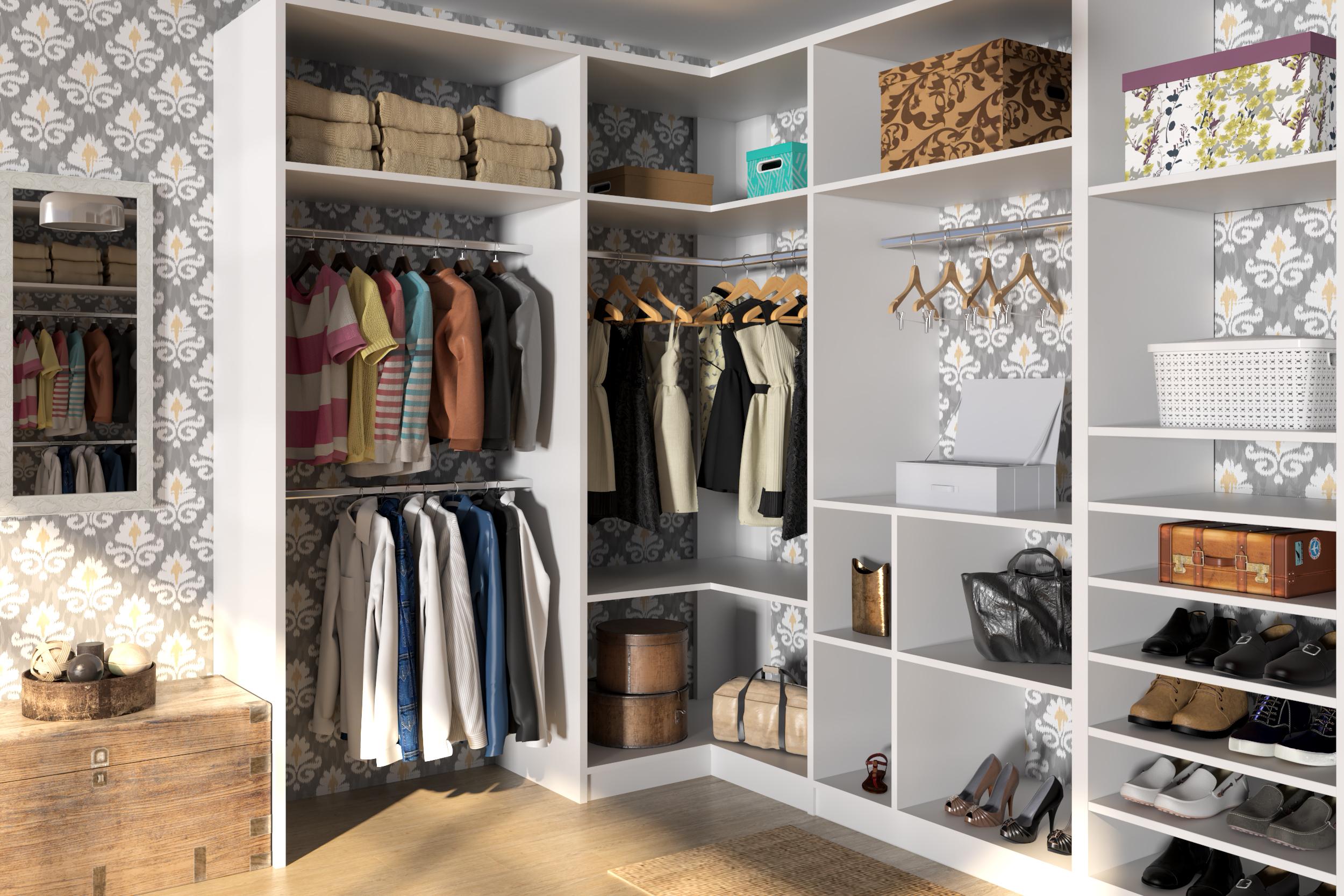 Closets Grandes Leroy Merlin ~ Decoração Quarto Casal Com Closet