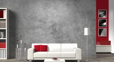 Como aplicar um efeito cimento queimado ou marmorizado em for Pintura metalizada para paredes