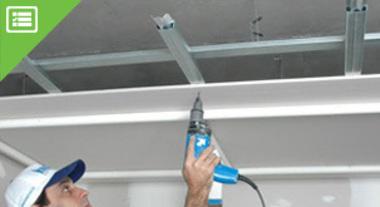 Como calcular o que você precisa para montar seu teto de Drywall.
