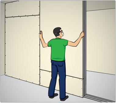 Como colocar chapas de gesso drywall leroy merlin - Placas pladur leroy merlin ...