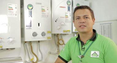 Como comprar aquecedores de água a gás