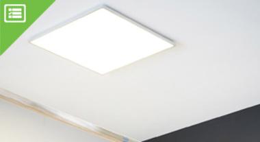 Como escolher a Luminária Painel LED ideal para o seu ambiente.