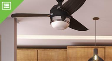 Como escolher o Ventilador de Teto ideal para o seu ambiente.