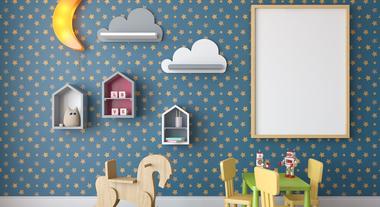 Como escolher papel de parede para quarto de bebê e acertar na decoração infantil