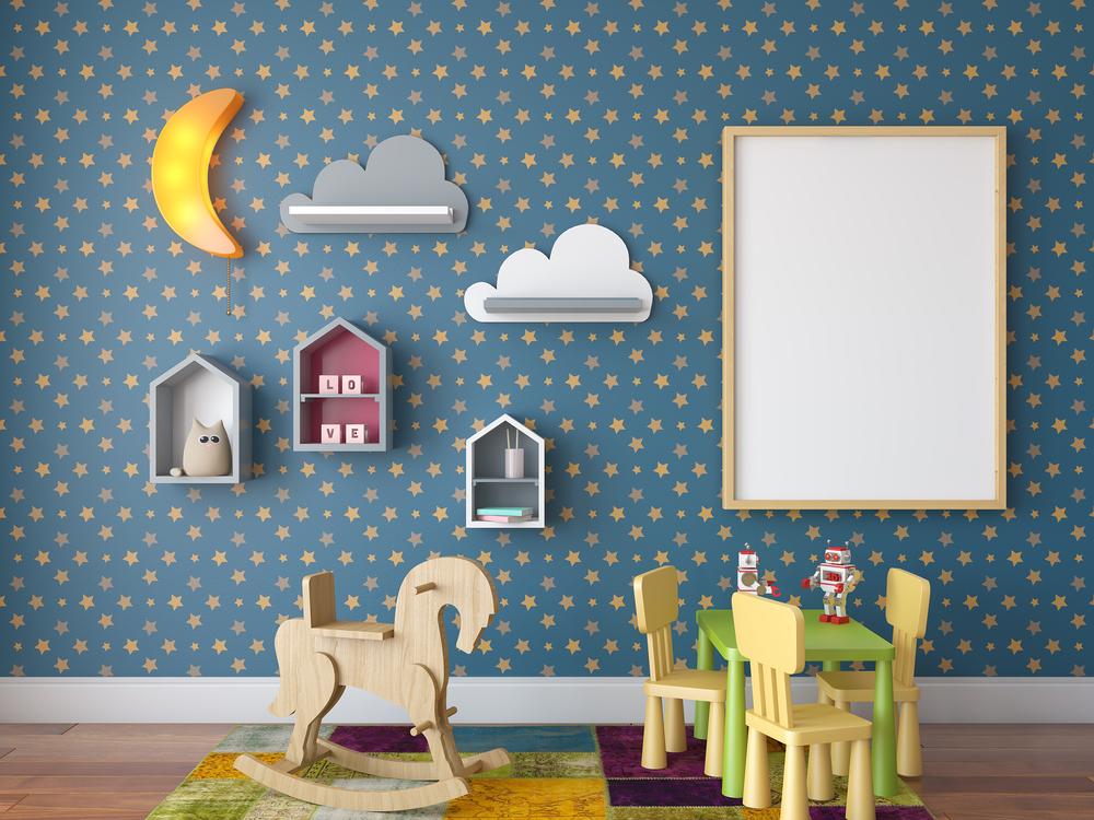 Como escolher papel de parede para quarto de beb - Papel de pared bebe ...