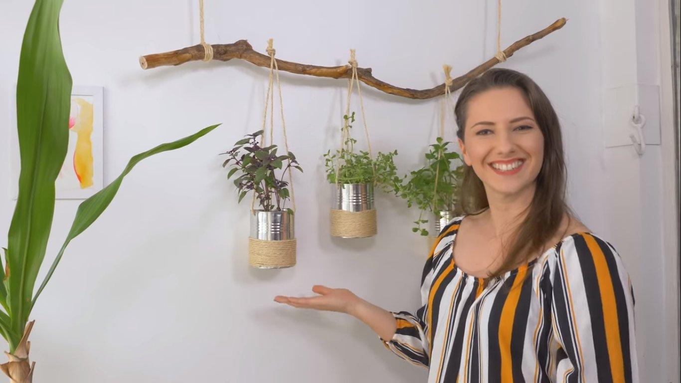 Como fazer suporte para plantas: Karla Amadori ensina dois modelos simples com cola quente