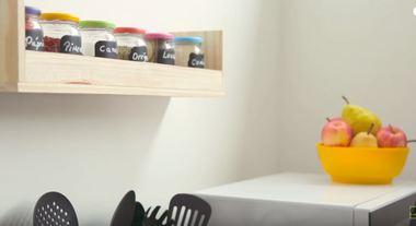 Como fazer um porta-temperos para dar graça à decoração da cozinha