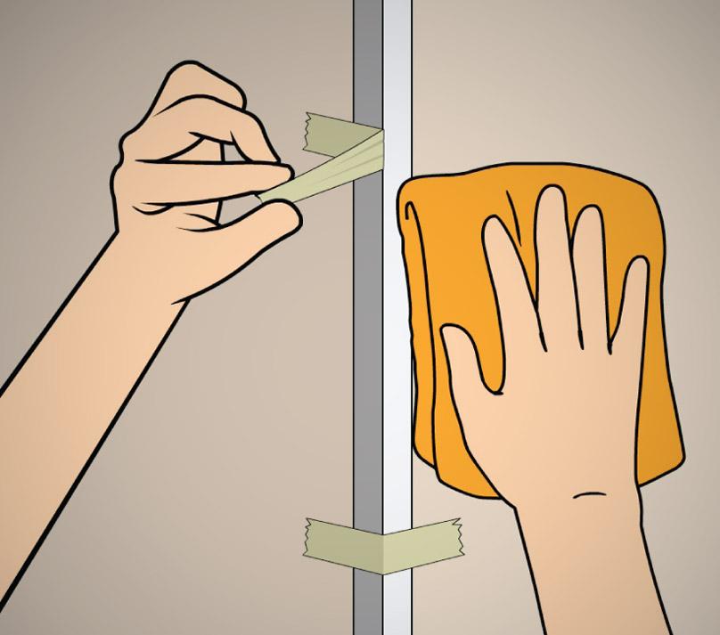 Como instalar cantoneiras para acabamento de parede - Friso de papel ...