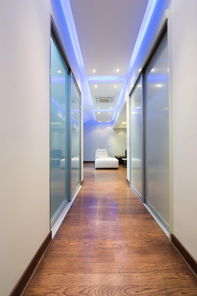 como instalar fita de led em sanca ou na decora o. Black Bedroom Furniture Sets. Home Design Ideas